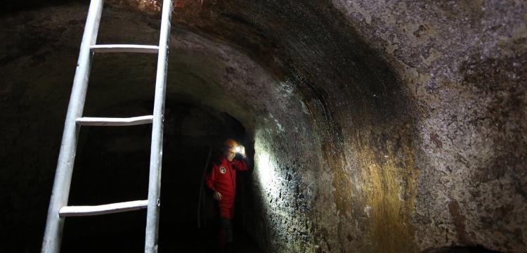 Ayasofya'da 1400 yıllık yeraltı menfezleri ve kuyular keşfedildi