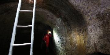 Ayasofyada 1400 yıllık yeraltı menfezleri ve kuyular keşfedildi