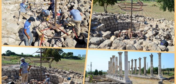 Aratos'un anıt mezarının ana hatları ortaya çıkarıldı
