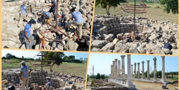 Aratosun anıt mezarının ana hatları ortaya çıkarıldı