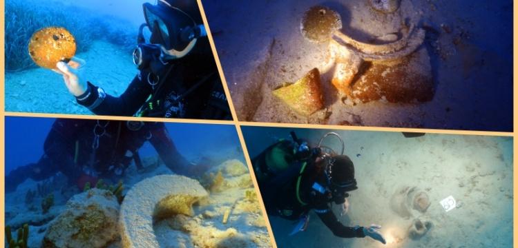 Marmaris Bozburun'da Tunç Çağı'ndan kalma su altı hazinesi keşfedildi