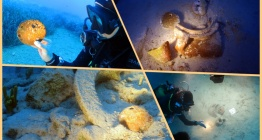 Marmariste Tunç Çağından kalma su altı hazinesi keşfedildi