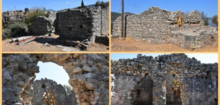 Beçin Antik Kenti'ndeki 700 yıllık Bey Hamamı restore edilecek