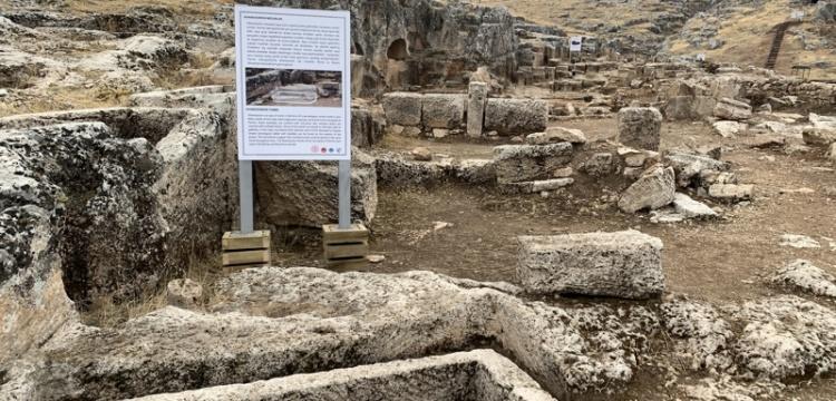Adıyaman Perre Antik Kenti ölü gömme geleneği canlandırılacak
