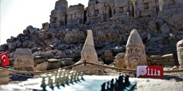 Nemrut Dağında satranç turnuvası