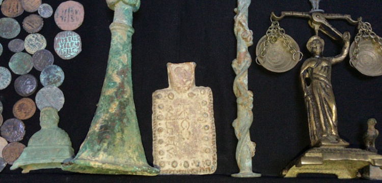 Adana'da 2428 parça tarihi eser yakalandı