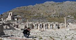 Sagalassos Antik Kentini 5 ayda 30 bin kişi ziyaret etti