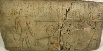 Diyarbakırda Antik Mısır Dönemine ait tablet yakalandı