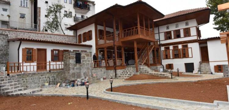Trabzon'daki Kundupoğlu Konağı'nın restorasyonu tamamlanıyor