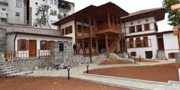 Trabzondaki Kundupoğlu Konağının restorasyonu tamamlanıyor