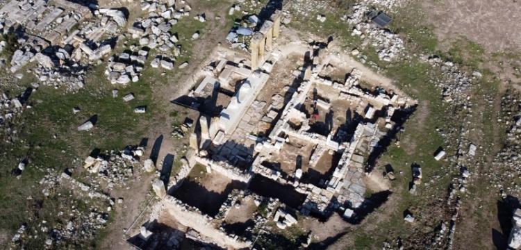 Uşak Blaundos Antik Kenti'nde Roma dönemi hamam bulundu