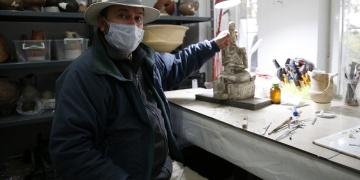 Kültepede 4200 yıllık tanrıça heykeli bulundu