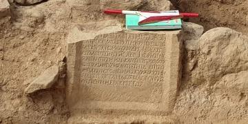 İznikde 1500 yıllık kitabe bulundu