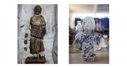 Kibyra Antik Kentide Serapis ve Asklepios heykelleri bulundu
