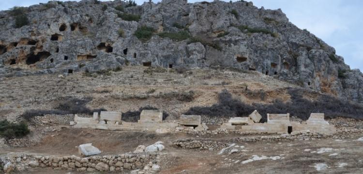 Karaman'da Roma dönemine ait sarnıç ve kale surları bulundu