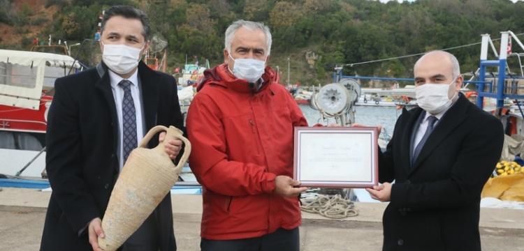 Kandıra'da amforalar balıkçılara emanet
