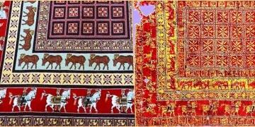 İranlılar, 2 bin 300 yıllık Pazırık Halısını yeniden dokudular