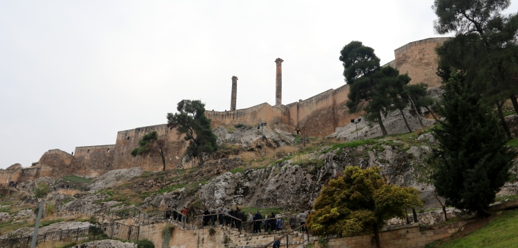 Urfa Kalesi kazı çalışmaları devam ediyor
