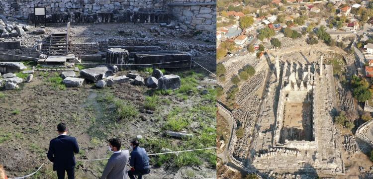 Didim Apollon Tapınağı'nı su basması sorunu çözüldü