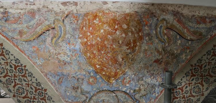 Topkapı Sarayı'nda Simurg ve ejder motifleri bulundu