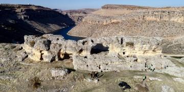 Diyarbakır Eğilde Asur Kalesindeki tuneller temizlenecek