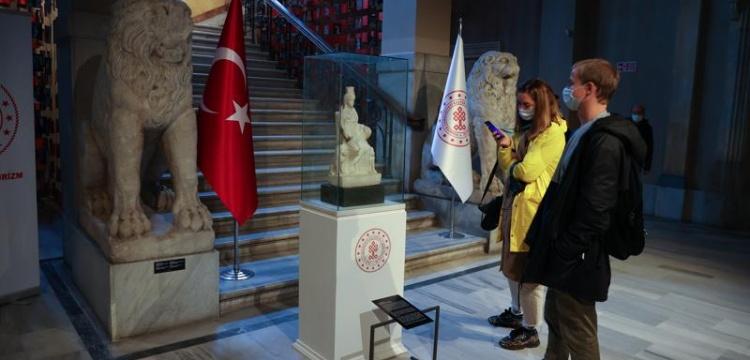 Kybele heykeli İstanbul Arkeoloji Müzeleri'nde ziyarete açıldı