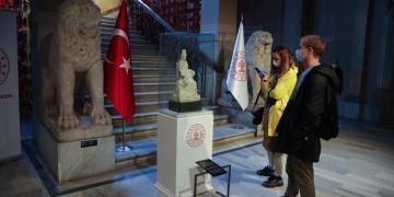 Kybele heykeli İstanbul Arkeoloji Müzelerinde ziyarete açıldı