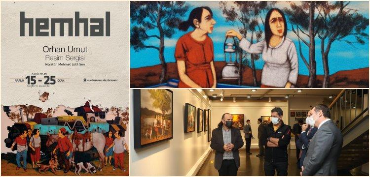Zeytinburnu Kültür ve Sanat Merkezi'nin yılsonu sergisi: Hemhal
