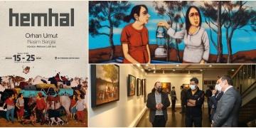 Zeytinburnu Kültür ve Sanat Merkezinin yılsonu sergisi: Hemhal