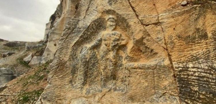 Bursa'daki 1800 yıllık Herkül kabartması delik deşik edildi