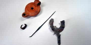 Hadrianaupolis Antik Kentinde kazılarda ölü hediyeleri bulundu