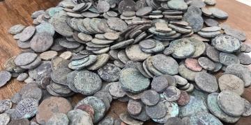 Diyarbakırda 1001 adet sikke yakalandı