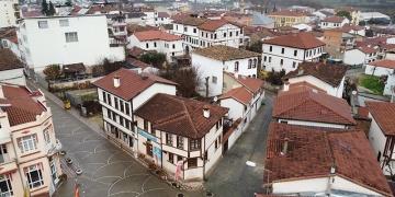 Osmanelinde tarihi evlerdeki restorasyonlar devam ediyor