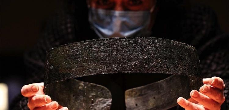 İzmir Arkeoloji Müzesi 2 bin 800 yıllık prenses kemerini sergilenmeye başladı