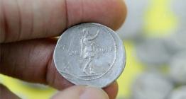 Kütahya Aizanoi Antik Kentinde Roma Dönemi sikke koleksiyonu bulundu