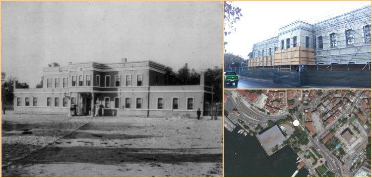 Kasımpaşa'daki Osmanlı Mirası karakol binası 'korunmak' için yıkılıyor!