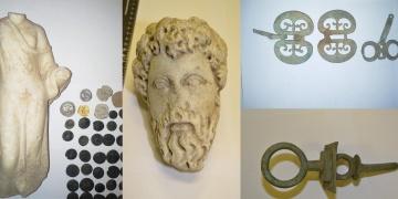 Macaristan gümrüğünde yakalanan 412 tarihi eser Türkiyeye getiriliyor