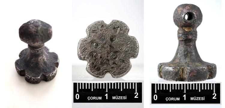 Çorum'da 3 bin 500 yıllık Hitit mührü bulundu