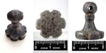 Çorumda 3 bin 500 yıllık Hitit mührü bulundu