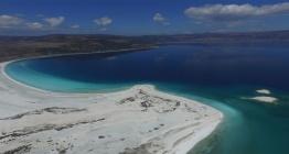 Salda Gölünde ziyaretçi sınırlaması getirildi