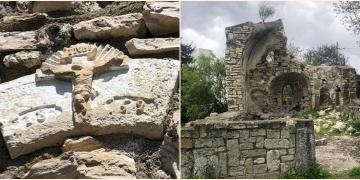 Çeşmedeki 300 yıllık İsa Heykeli korumaya alınamadan çalındı!