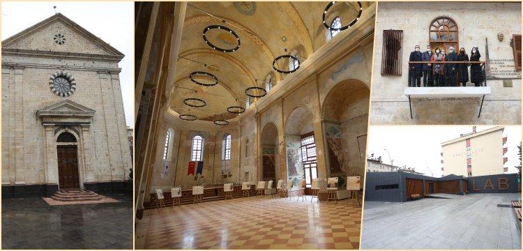 Arkeoloji Enstitüsü'ne dönüşen Kendirli Kilisesi'nin restorasyonu bitti