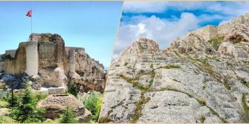 Harput Kalesinde Urartulardan kalma açık hava tapınağı bulundu