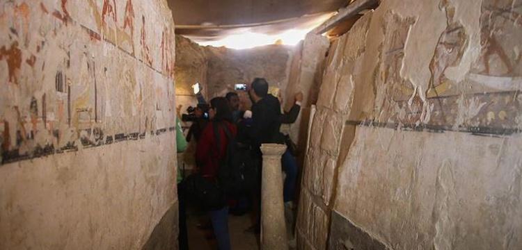 Mısır'da en eskisi 8 bin yıllık 110 mezar bulundu