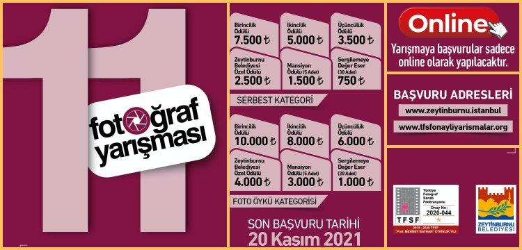 Zeytinburnu'nu en iyi anlatan fotoğraflar için ödüllü yarışma