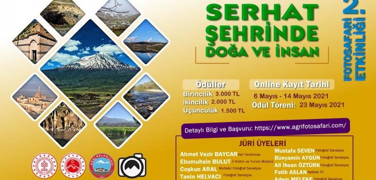 Ağrı'nın tarihi ve doğal güzellikleri fotoğraf yarışması