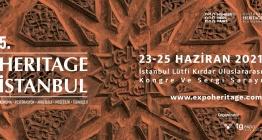 Heritage İstanbul Fuarı ziyarete açıldı