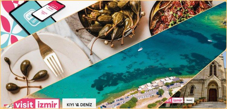İzmir'in mobil turizm uygulaması Visitİzmir yayında