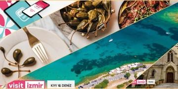 İzmirin mobil turizm uygulaması Visitİzmir yayında