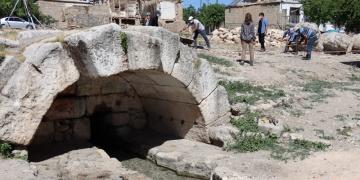 Adıyaman Perre Antik Kentinde kamulaştırılan alanlar temizleniyor